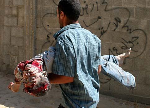 ALLAH YARHAMHOM OU RABI YANSARHOM...DITES AMIN Gaza-m10