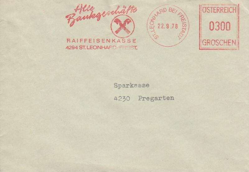 Briefe / Poststücke österreichischer Banken Img10