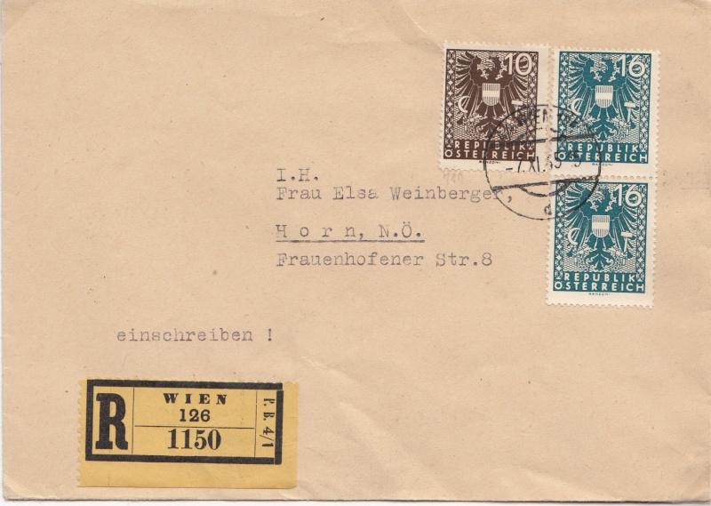 Wappenzeichnung  -  ANK 714-736 - Belege Img17