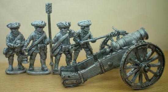 L' artillerie britanique de la guerre de 7 ans A_engl11