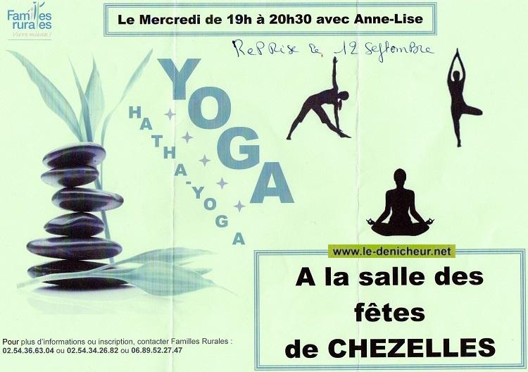 l12 - JEU 12 septembre - CHEZELLES - - Reprise des cours de yoga _* 09-1210