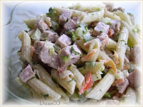 Salade de pâtes au jambon (2) 21203910