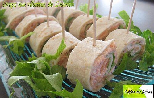 Wraps aux rillettes de saumon Wraps-10