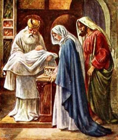 La PRÉSENTATION de JÉSUS au TEMPLE et la PURIFICATION de MARIE 111