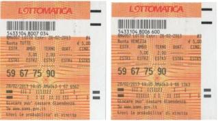 GChiaramida:Il Grand Tour del 90 - ALL VIII COLPO dal TERNOVANTA ambo secco 23-45 su FIRENZE 677510