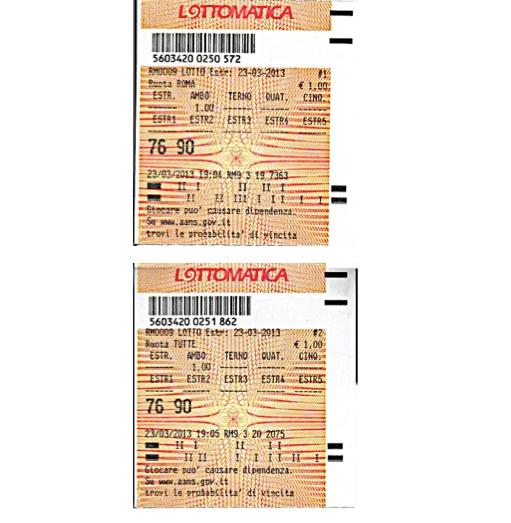 """GChiaramida:22/23 MARZO 2013 - Una nuova scommessa sul numero 90! A COLPO AMBO SECCO UNICO 76-90 SU RM DAL """"TERNOVANTA"""" 76-90_10"""