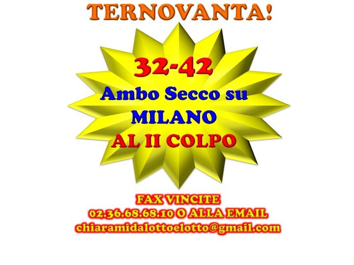 GChiaramida:Il Grand Tour del 90 - ALL VIII COLPO dal TERNOVANTA ambo secco 23-45 su FIRENZE Diapos22
