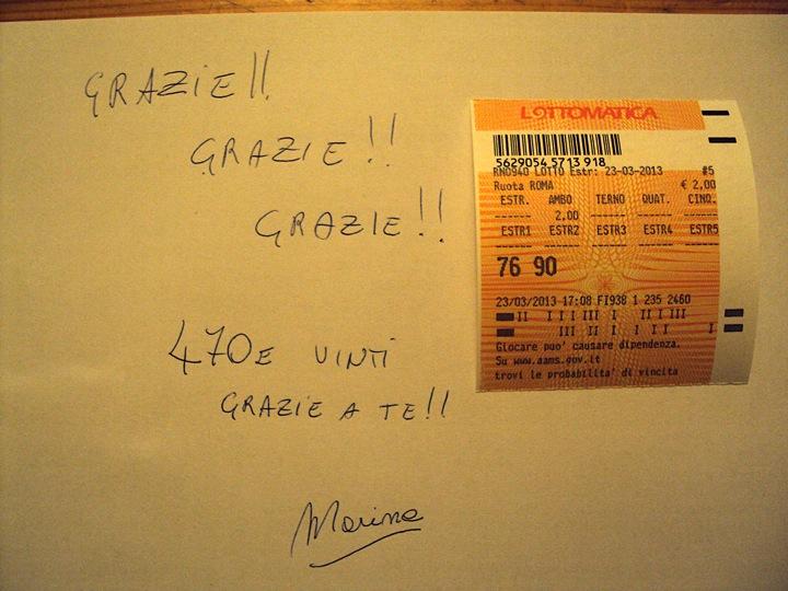 """GChiaramida:22/23 MARZO 2013 - Una nuova scommessa sul numero 90! A COLPO AMBO SECCO UNICO 76-90 SU RM DAL """"TERNOVANTA"""" Diapos46"""