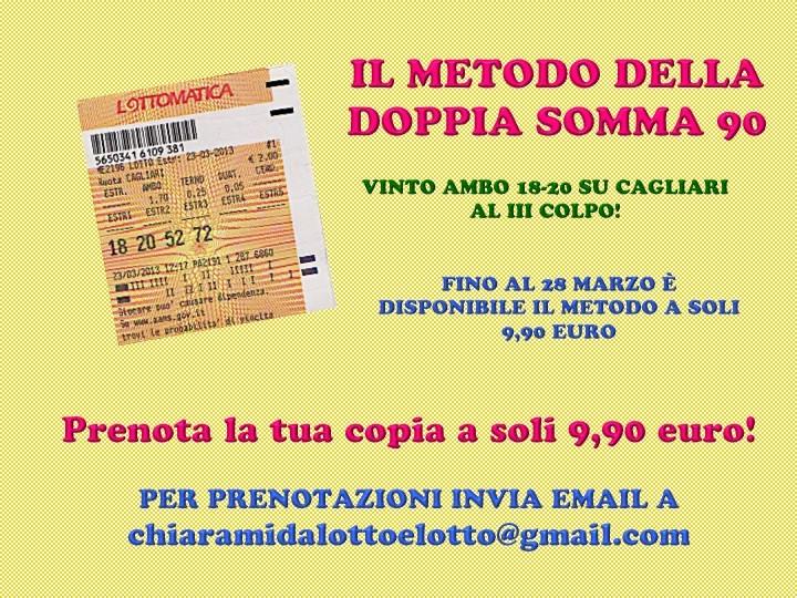 GChiaramida:Doppia Somma 90 - METODO DISPONIBILE FINO AL 28/3! Diapos48