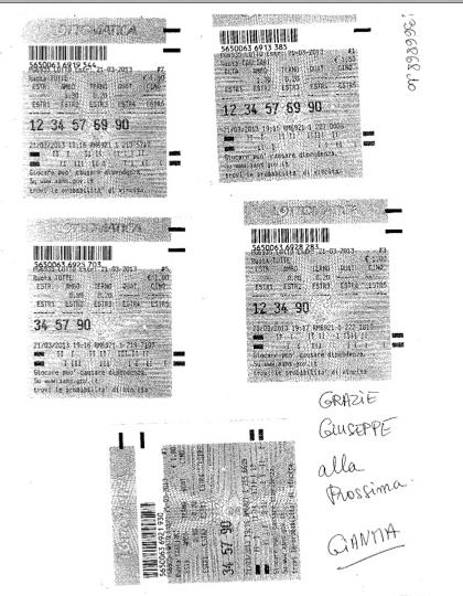 """GChiaramida:22/23 MARZO 2013 - Una nuova scommessa sul numero 90! A COLPO AMBO SECCO UNICO 76-90 SU RM DAL """"TERNOVANTA"""" Gian10"""