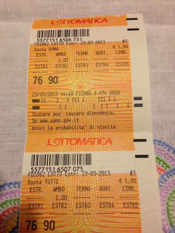 """GChiaramida:22/23 MARZO 2013 - Una nuova scommessa sul numero 90! A COLPO AMBO SECCO UNICO 76-90 SU RM DAL """"TERNOVANTA"""" Image_10"""