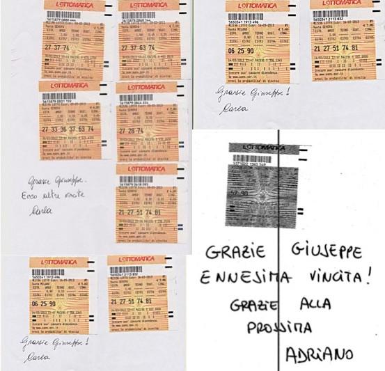 GChiaramida:Lista di attesa per il metodo TERNOVANTA! AL II COLPO AMBO SECO 5-90 SU CAGLIARI DAL TERNOVANTA Vefre10