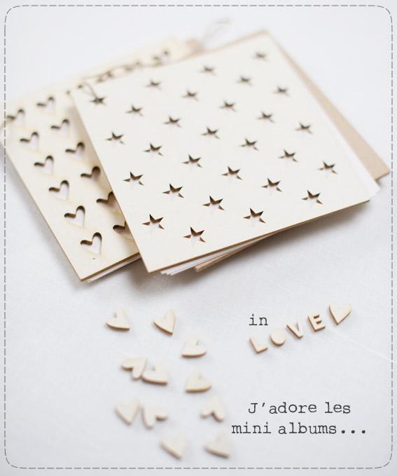 """Nouveaux mini albums : les """"bois et carton"""" Inlove10"""