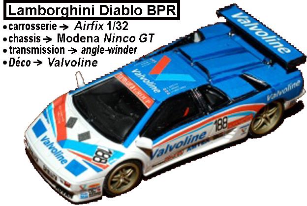 Règlement du Championnat analogique GT1 BPR Diablo10