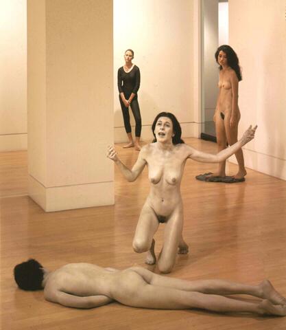 Sculptures hyperréalistes Deandr12