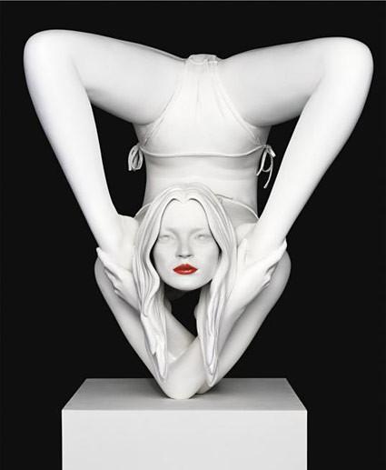 Sculptures hyperréalistes Kate-m10