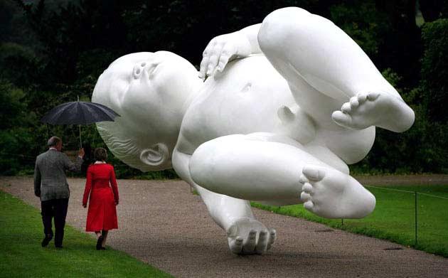 Sculptures hyperréalistes Mark-q10