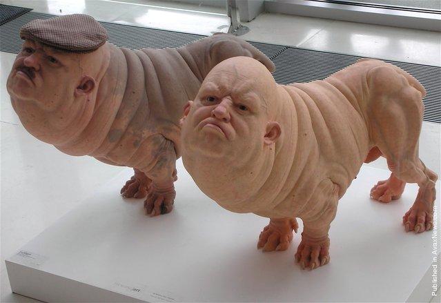 Sculptures hyperréalistes Patric11