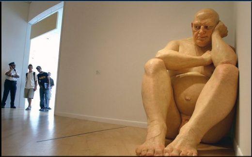 Sculptures hyperréalistes Ronmue11