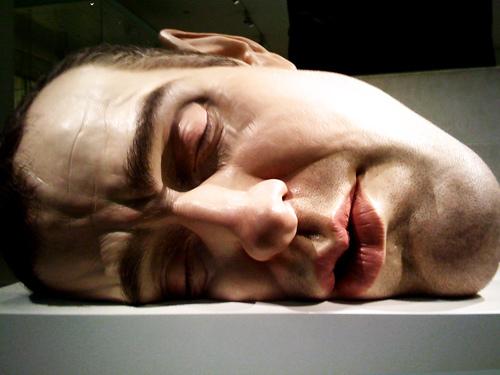 Sculptures hyperréalistes Ronmue16