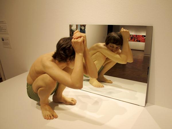 Sculptures hyperréalistes Ronmue17