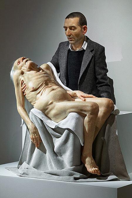 Sculptures hyperréalistes Samjin10