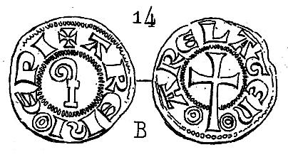 obole anonyme des évêques et archevêques d'Arles. Pa408710