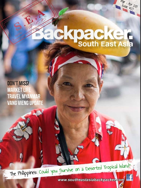 Revue South East Asia Backpackers, version numérique Screen12