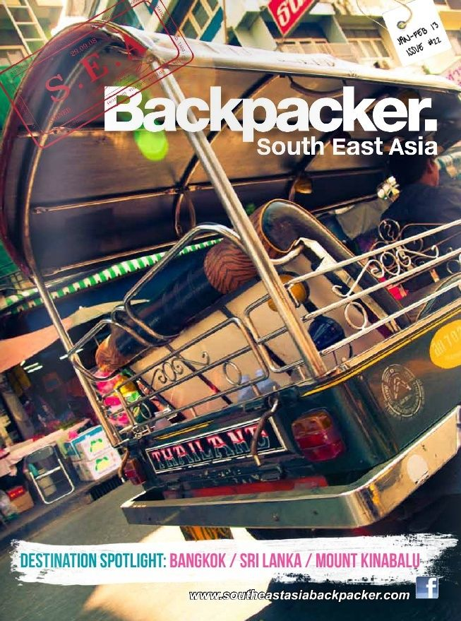 Revue South East Asia Backpackers, version numérique Screen13