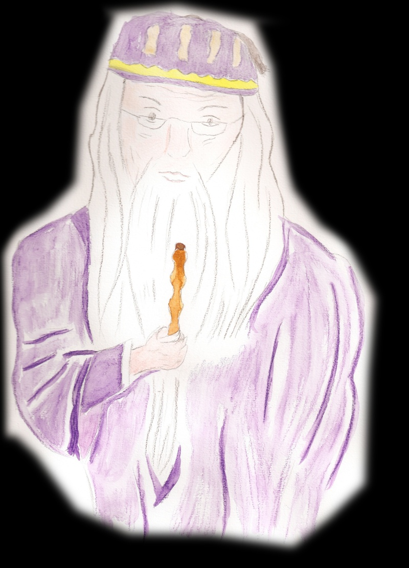 Vos Fanarts Harry Potter Dumble10