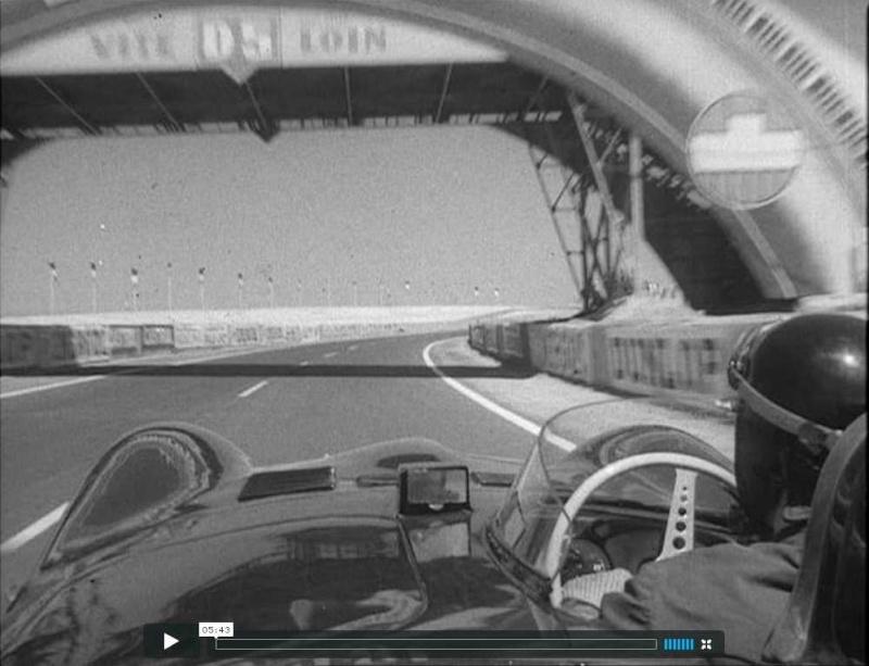 Mike Hawthorn Le Mans  1956 Screen11