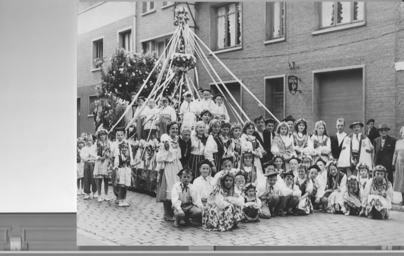 Une photo du groupe oberek 1959/60 1960_e11