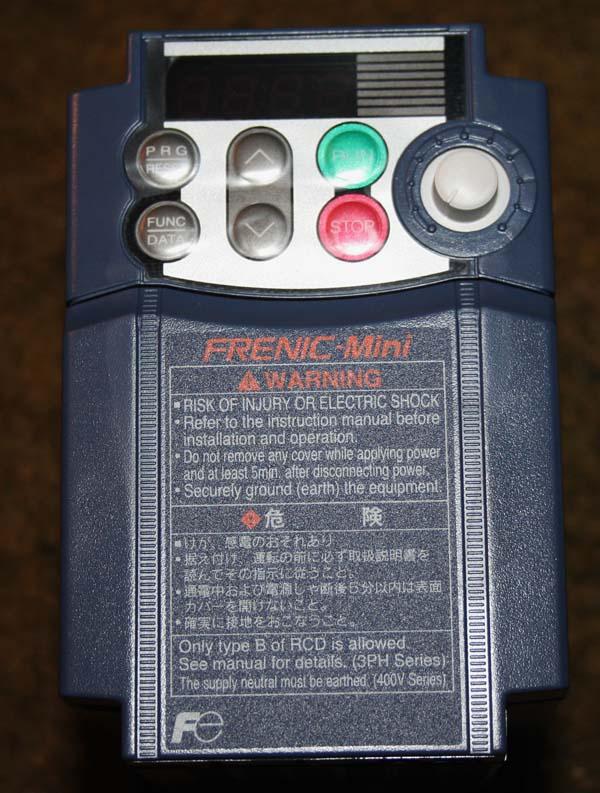 Broche Arc EuroTrade 0.75Kw (GMT) + Variateur de fréquence FUJI Aet0410
