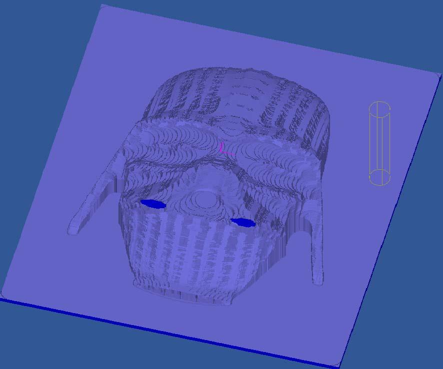 [Cambam - Usinage 3D] Vador Cv210