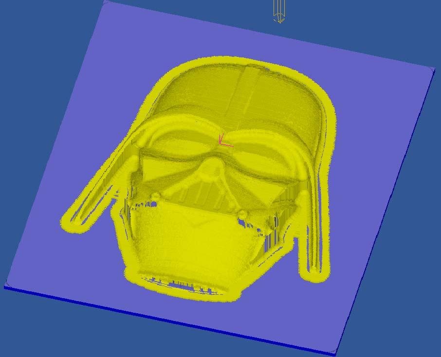 [Cambam - Usinage 3D] Vador Cv410
