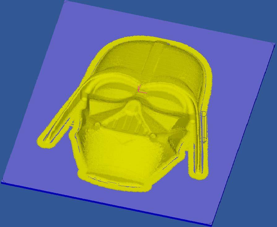 [Cambam - Usinage 3D] Vador Cv510