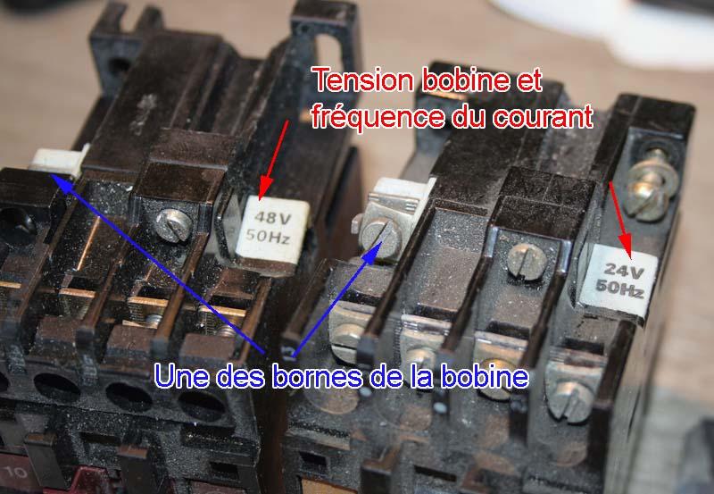 """Branchement """"contacteur"""" Relais13"""