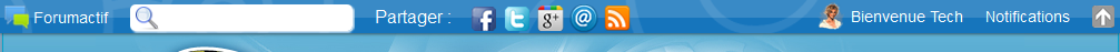 Toon de avatar van leden in de toolbar Astuce10