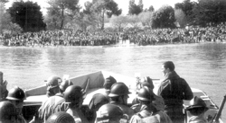 le 30 avril 1945 debarquement a l'ile d'oleron  (8882 combattants) 73-310