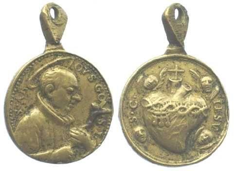 Médaille de St Louis de Gonzague Med310