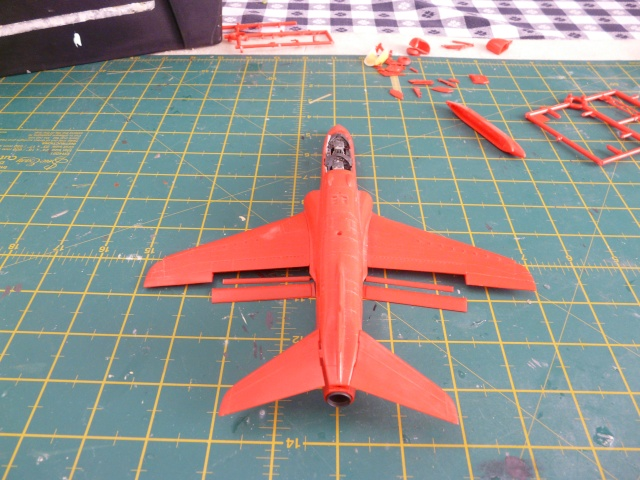 Red arrows  Red 4  xx179  italeri 1-48 - Page 2 P1080410