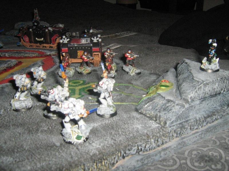 Mon plateau de présentation pour mes chevaliers gris Img_1516