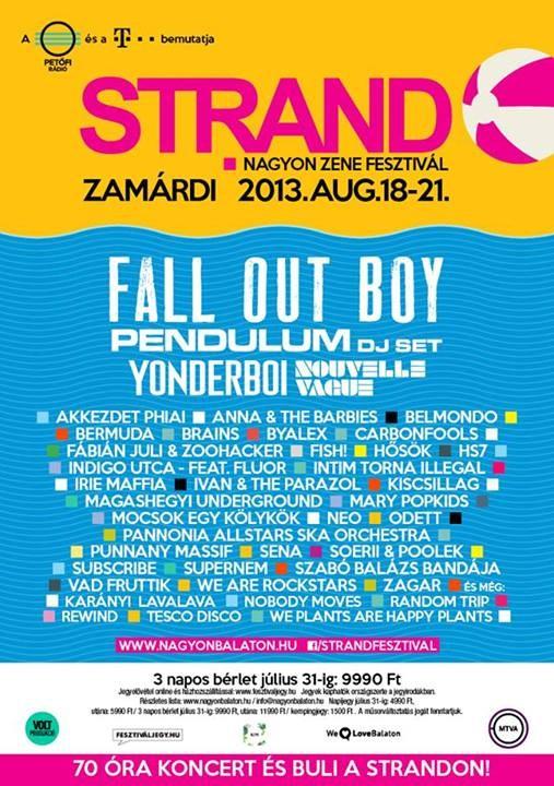 """Concert """"Nouvelle Vague"""" au Strand Fesztivál en Hongrie (20 août 2013) 80459110"""