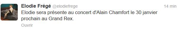 Elodie invitée d'Alain Chamfort au Grand Rex (30 janvier 2013) Captur11