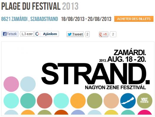 """Concert """"Nouvelle Vague"""" au Strand Fesztivál en Hongrie (20 août 2013) Captur14"""