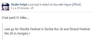 """Concert """"Nouvelle Vague"""" au Strand Fesztivál en Hongrie (20 août 2013) Captur15"""