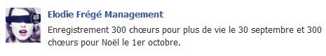Messages d'Elodie Frégé Management sur Facebook - Page 23 Elo29