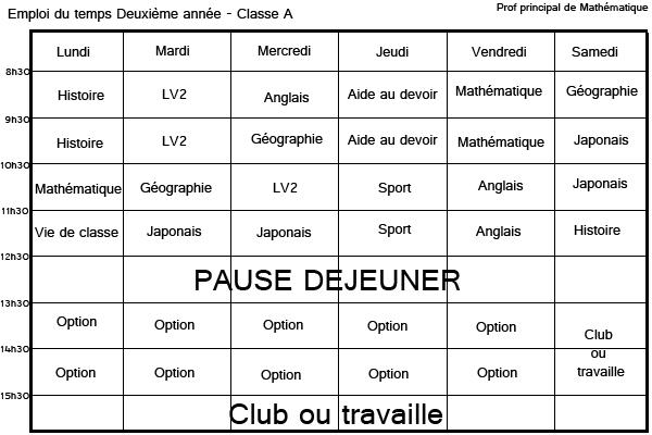 Système scolaire Deuxia10
