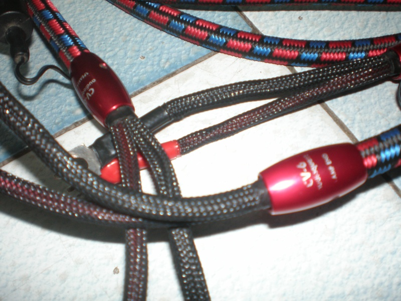 audioquest cv6 36v dbs spk cable used price reduced