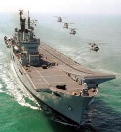 L'Inde lance son premier porte-avions de fabrication nationale Arton110